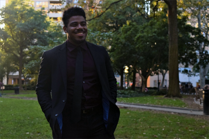Jeremiah Watson, LeBow student and Liberty Scholar
